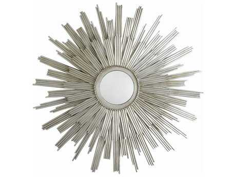 Arteriors Home Galaxy Silver Leaf 41.5'' Round Wall Mirror