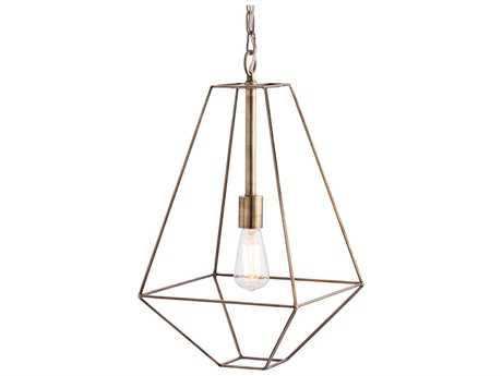 Arteriors Home Tyler Antique Brass 12.5'' Wide Pendant Light