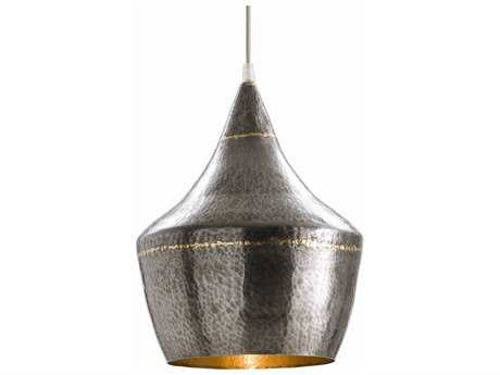 Arteriors Home Mason Dark Silver Iron 10'' Wide Pendant Light