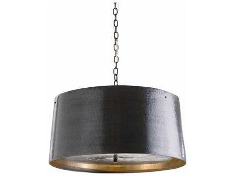 Arteriors Home Anderson English Bronze Three-Lights 22.5'' Wide Pendant Light