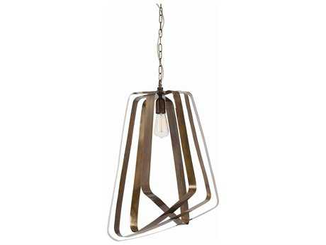 Arteriors Home Adele Vintage Brass 19'' Wide Pendant Light