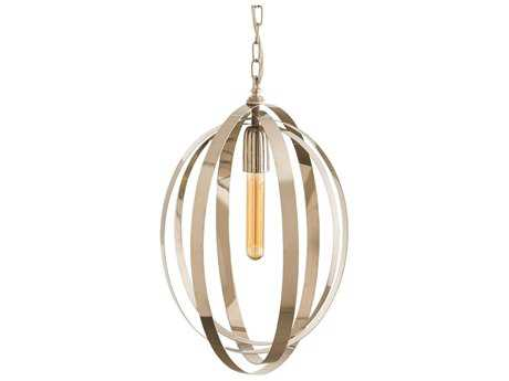 Arteriors Home Nico Polished Nickel 13.5'' Wide Pendant Light