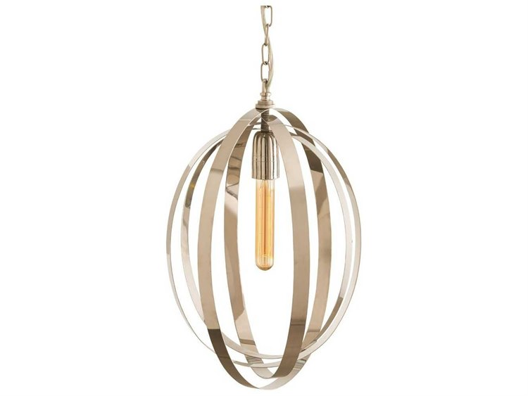 Arteriors home nico polished nickel 135 wide pendant light arh44043 arteriors home nico polished nickel 135 wide pendant light aloadofball Images