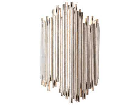 Arteriors Home Prescott Champagne Leaf Two-Lights Wall Sconce