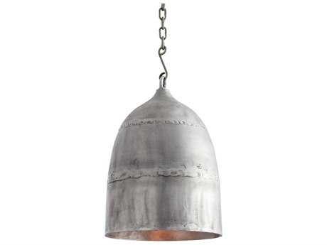 Arteriors Home Alaric Antique Aluminum 12'' Wide Pendant Light