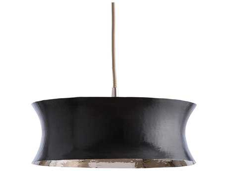 Arteriors Home Tartan Bronze & Polished Nickel Inside Two Lights 15.5'' Wide Pendant Light