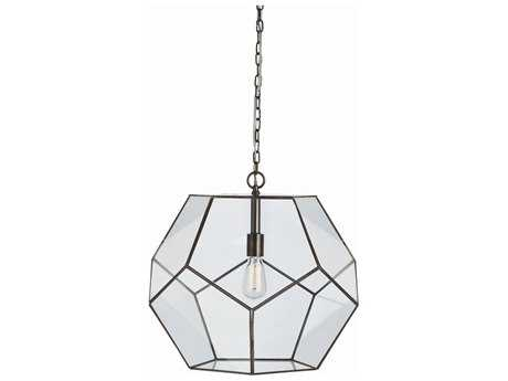Arteriors Home Tenley Bronze with Clear Glass 20'' Wide Pendant Light