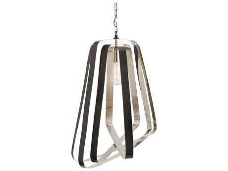 Arteriors Home Adele Bronze & Polished Nickel 19'' Wide Pendant Light