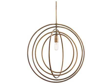 Arteriors Home Quintana Antique Brass 24.5'' Wide Pendant Light