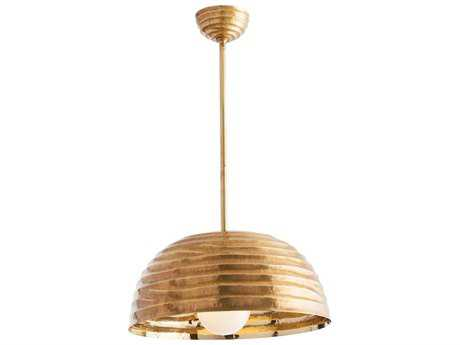 Arteriors Home Cullom Antique Brass 18'' Wide Pendant Light