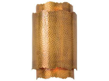 Arteriors Home Bryce Vintage Brass Two-Light Wall Sconce