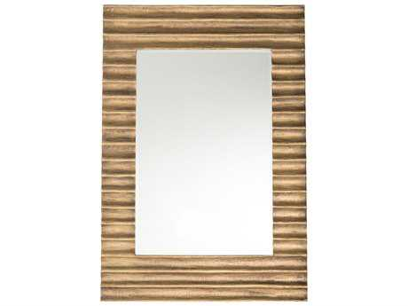 Arteriors Home Nicola Antique Brass Clad 35''W x 51''H Rectangular Wall Mirror