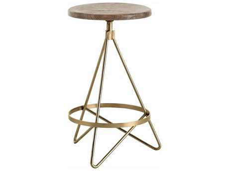 Arteriors Home Wyndham Natural Wax Counter Stool
