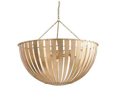 Arteriors Home Camden Gold Leaf 30'' Wide Five-Light Pendant Light