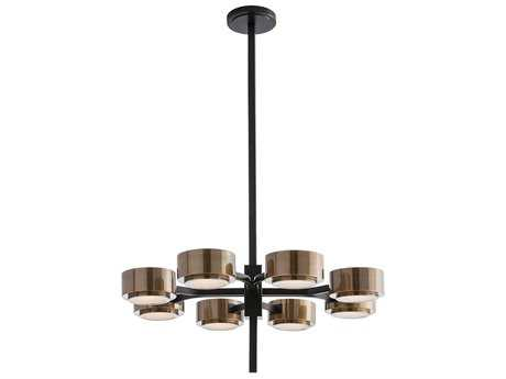 Arteriors Home Jalen Bronze Eight-Lights 29.5'' Wide Chandelier