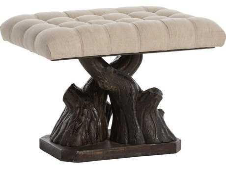 Arteriors Home Boiserie Bronze Accent Bench
