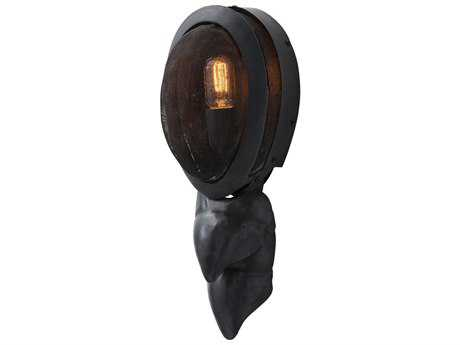 Arteriors Home Touche Burnt Wax Iron Wall Sconce