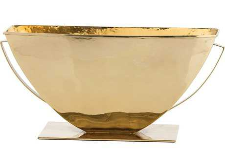 Arteriors Home Alexandros Polished Brass Centerpiece