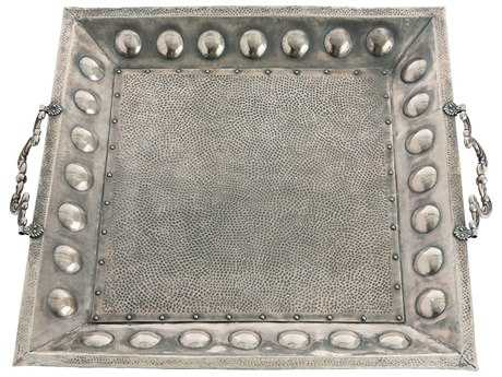 Arteriors Home Antony Antique Silver Tray
