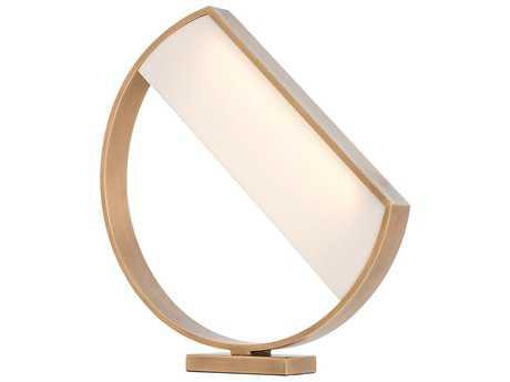 Arteriors Home Luna Antique Brass Table Lamp