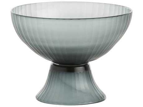 Arteriors Home Pliny Smoke Glass Centerpiece