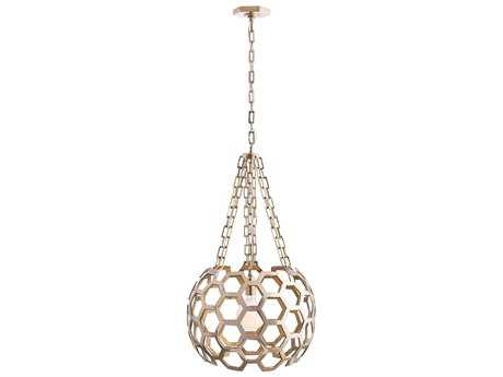 Arteriors Home Dolma Polished Brass 22'' Wide Pendant Light