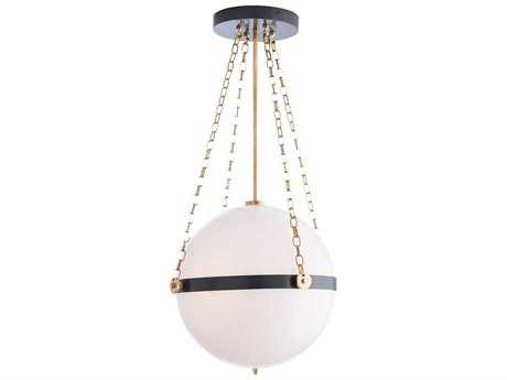 Arteriors Home Saturnus Bronze & Antique Brass Three-Light 15'' Wide Pendant Light