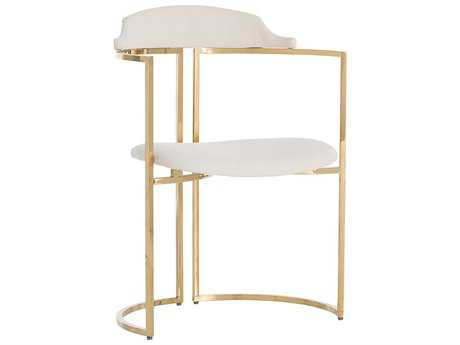 Arteriors Home Zephyr Polished Brass Dining Chair