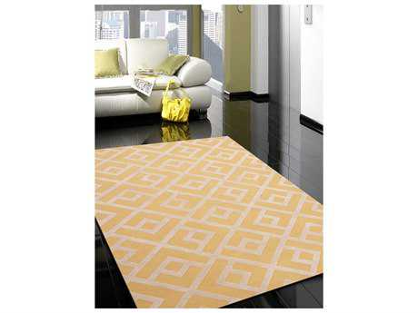 Amer Rugs Helena Yellow Rectangular Area Rug