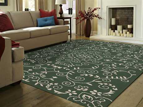 Amer Rugs Helena Verdant Green Rectangular Area Rug