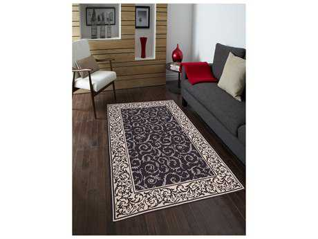 Amer Rugs Helena Dark Chocolate Rectangular Area Rug