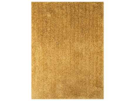 Amer Rugs Illustrations Rectangular Gold Area Rug
