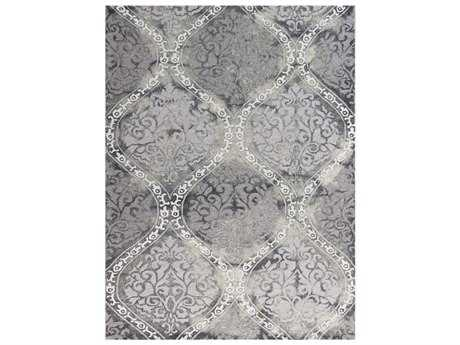 Amer Rugs Kanoka Rectangular Steel Gray Area Rug