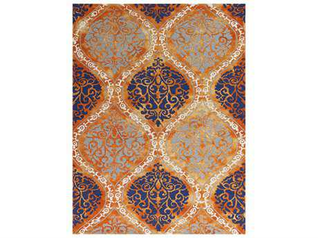 Amer Rugs Kanoka Rectangular Orange Area Rug