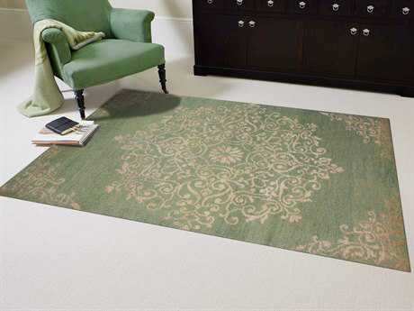 Amer Rugs Kimaya Grass Green Rectangular Area Rug