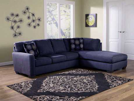 Amer Rugs Kimaya Navy Rectangular Area Rug