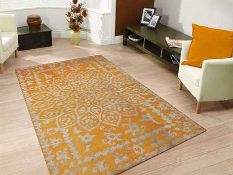 Amer Rugs Kimaya Yellow Rectangular Area Rug