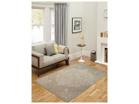 Amer Rugs Kimaya Light Sage Rectangular Area Rug