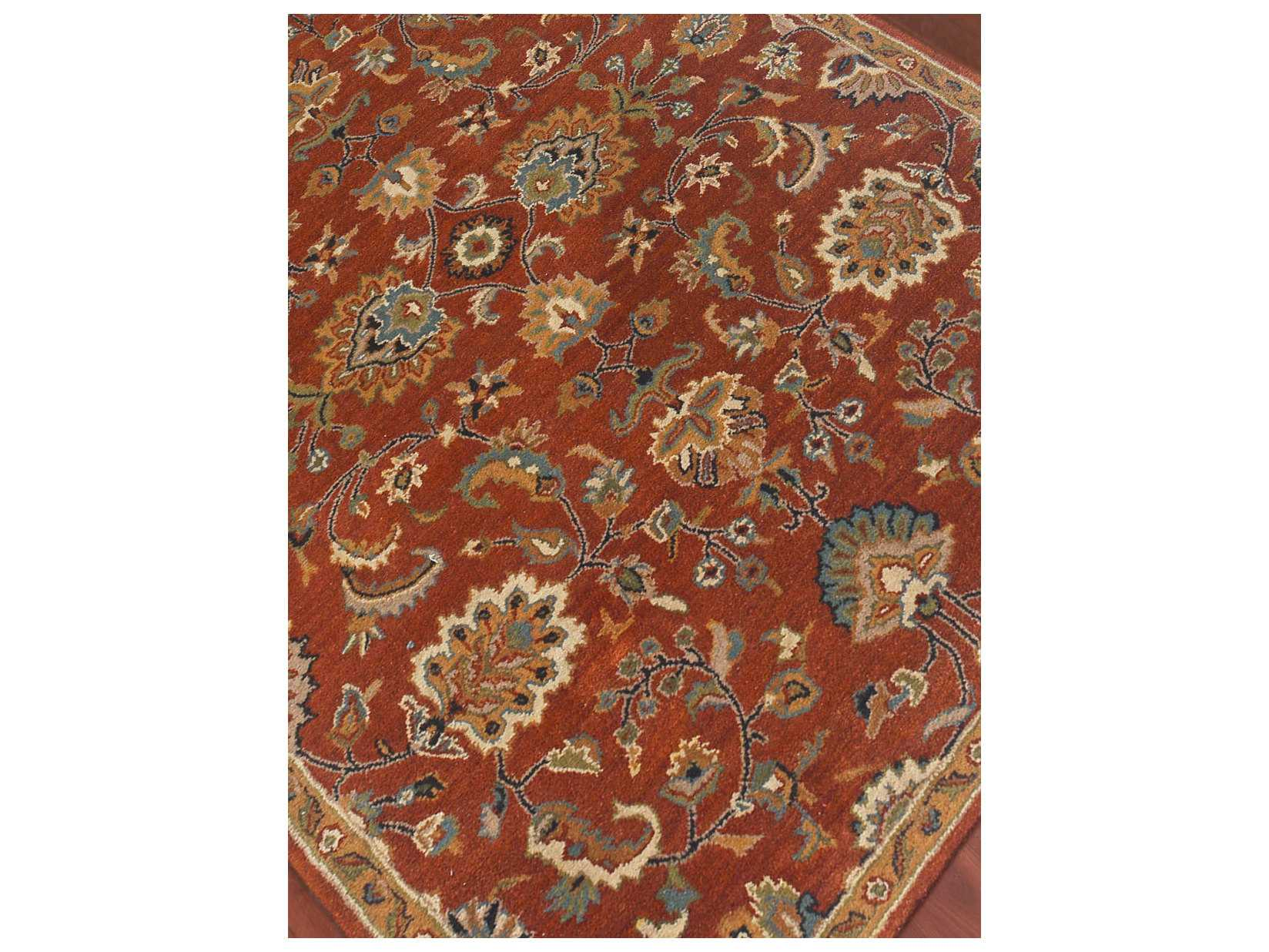 Amer Rugs Liberty Rust Rectangular Area Rug Arlib4sa