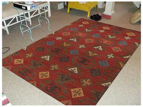Amer Rugs Makamani Rust Rectangular Area Rug