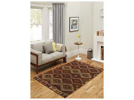 Amer Rugs Makamani Burned Orange Rectangular Area Rug