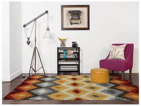 Amer Rugs Piazza Yellow Rectangular Area Rug