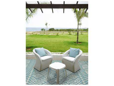 Amer Rugs Piazza Aqua Rectangular Area Rug