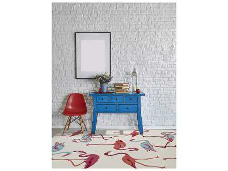 Amer Rugs Piazza White Rectangular Area Rug