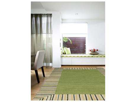 Amer Rugs Piazza Olive Green Rectangular Area Rug