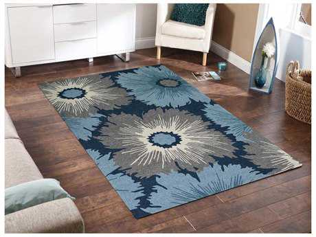 Amer Rugs Piazza Navy Rectangular Area Rug