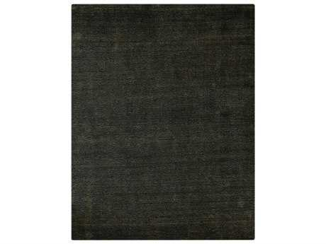 Amer Rugs Pure Ebony Rectangular Area Rug