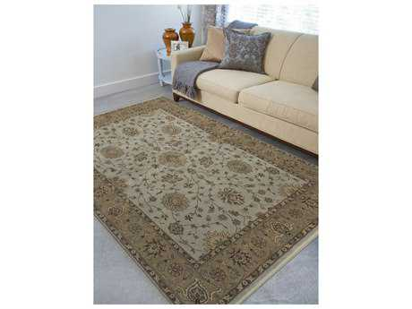 Amer Rugs Oasis Mint Rectangular Area Rug