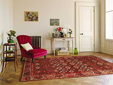 Amer Rugs Silkshine Rust Rectangular Area Rug