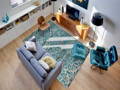 Amer Rugs Silkshine White Rectangular Area Rug